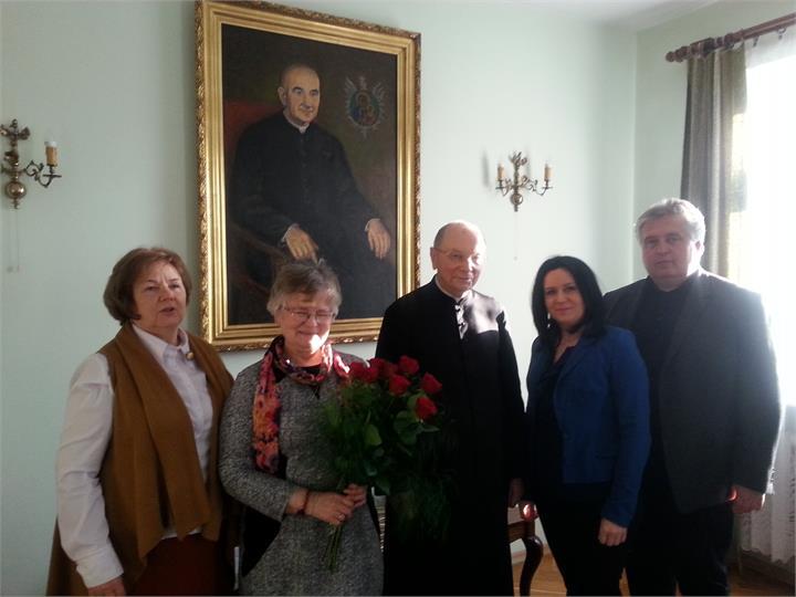Jubileusz ks. prof. Edwarda Szymanka
