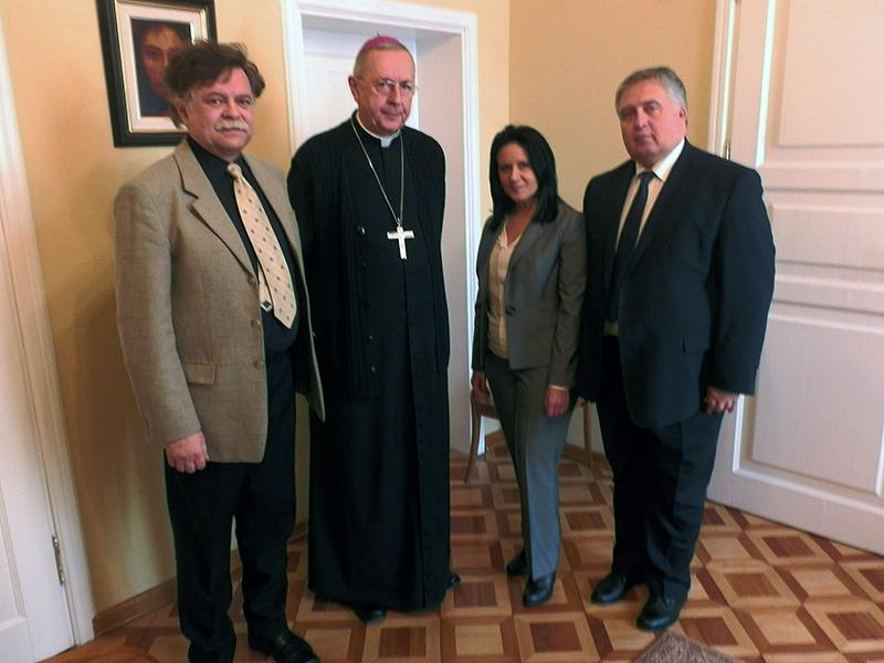 Spotkanie członków Zarządu KSW Oddział w Poznaniu z ks. Arcybiskupem Stanisławem Gądeckim