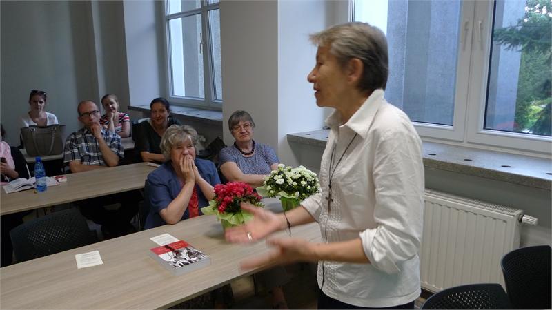 Spotkanie z siostrą Urszulą ze zgromadzenia Sacre Coeur