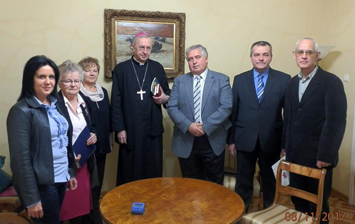 Spotkanie arcybiskupa Stanisława Gądeckiego z członkami Zarządu Oddziału KSW w Poznaniu
